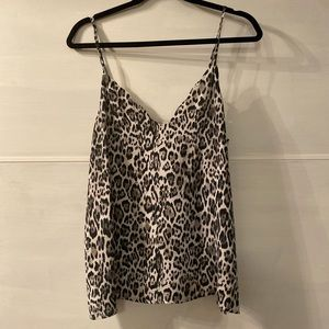 CHEETAH top from Nordstrom! Size M, Tank Blouse